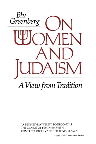 9780827602267: On Women and Judaism: A View from Tradition