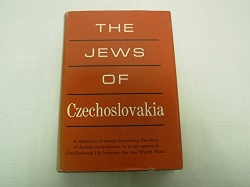 The Jews of Czechoslovakia: Historical Studies and: Avigdor Dagan