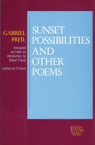 9780827602410: Sunset Possibilities and Other Poems (JPS Poetry)