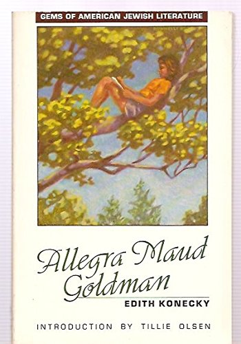 9780827602823: Allegra Maud Goldman (Gems of American-Jewish Literature Series)