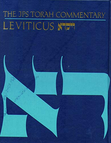 9780827603288: The JPS Torah Commentary: Leviticus