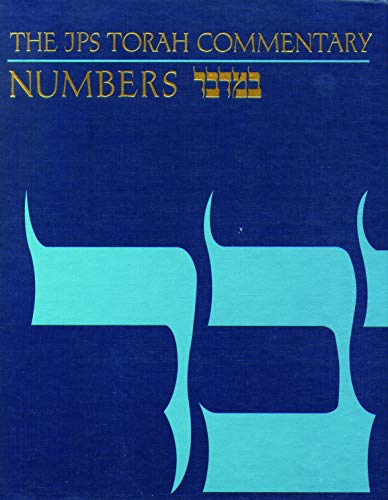 The JPS Torah Commentary: Numbers (English and Hebrew Edition) (9780827603295) by Jacob Milgrom
