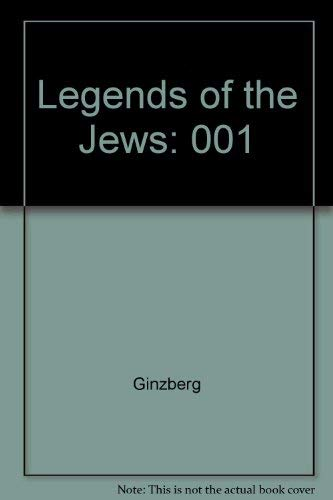 9780827603400: Legends of the Jews: From Creation to Jacob