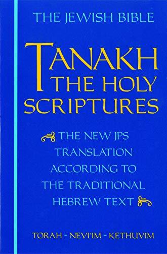 9780827603660: Tanakh: The Jewish Bible