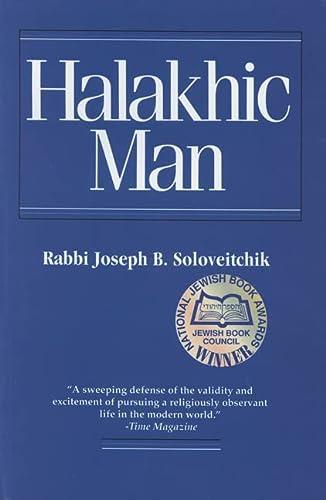 9780827603974: Halakhic Man