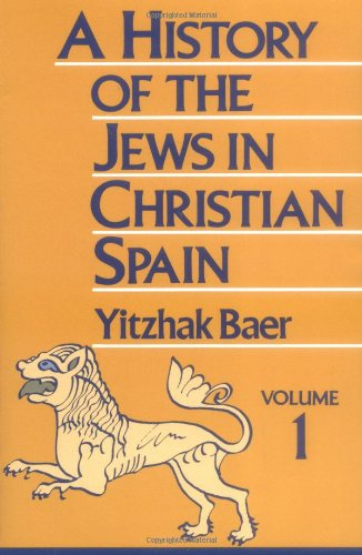 9780827604315: A History of the Jews in Christian Spain (Two-volume set)