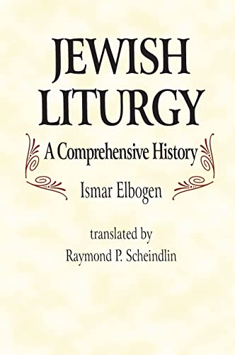 9780827604452: Jewish Liturgy a Comprehensive Histor: A Comprehensive History