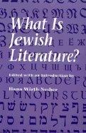 9780827605381: What Is Jewish Literature?