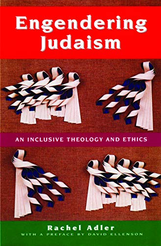 9780827605848: Engendering Judaism: An Inclusive Theology and Ethics