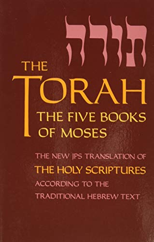 9780827606807: The Torah: The 5 Books of Moses