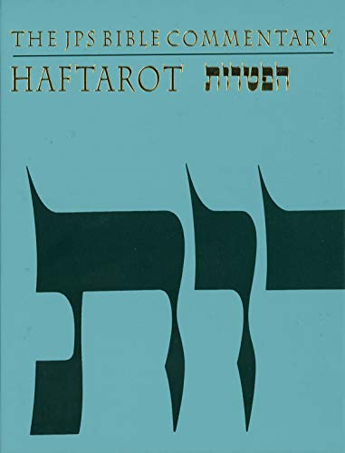 9780827606913: The JPS Bible Commentary: Haftarot (English and Hebrew Edition)