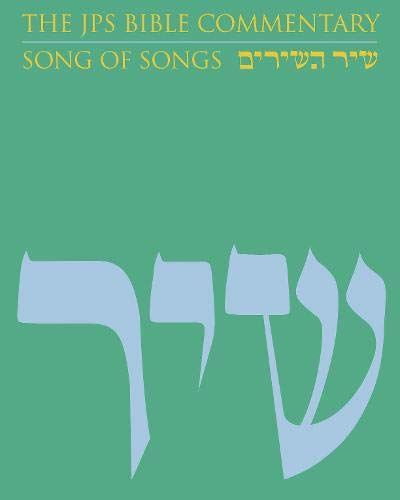 9780827607415: The JPS Bible Commentary: Song of Songs