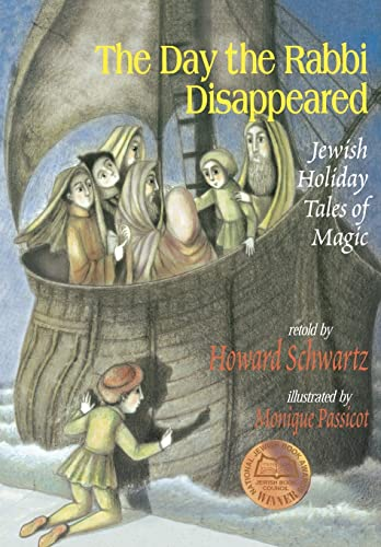 9780827607576: The Day the Rabbi Disappeared: Jewish Holiday Tales of Magic