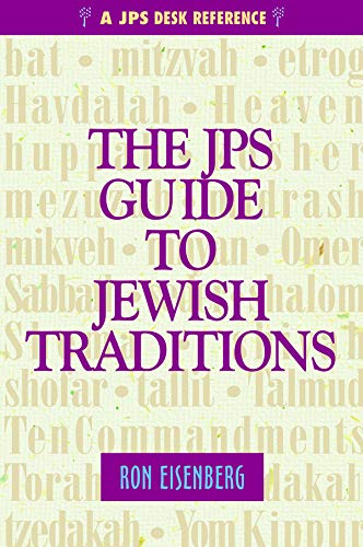 9780827607606: The JPS Guide to Jewish Traditions (A JPS Desk Reference)
