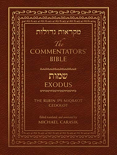9780827608122: The Commentator's Bible: The Jps Miqra'ot Gedolot: Exodus: 1