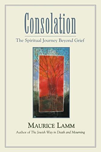Consolation: The Spiritual Journey Beyond Grief: Maurice Lamm