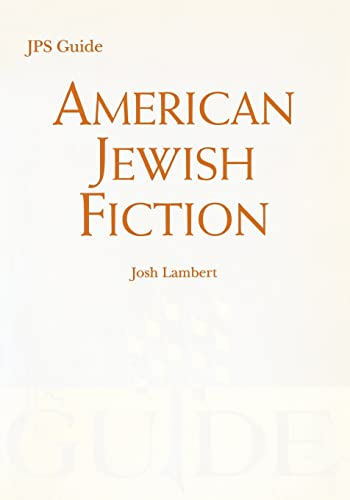 9780827608832: American Jewish Fiction: A JPS Guide (JPS Desk Reference)