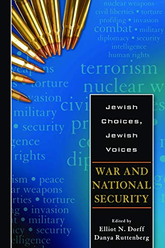 9780827609068: Jewish Choices, Jewish Voices: War and National Security