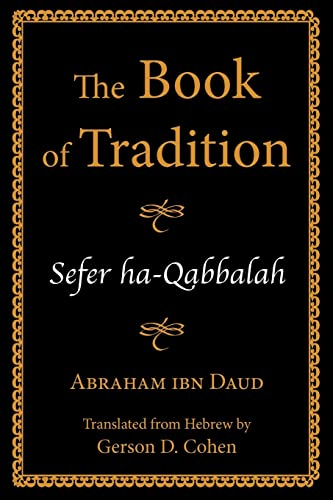 9780827609167: The Book of Tradition / Sefer ha-Qabbalah