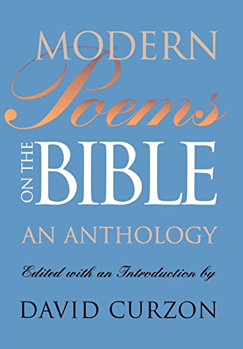 9780827609198: Modern Poems on the Bible: An Anthology