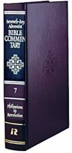 9780828000192: SDA Bible Commentary # 7 - Philippians-Revelation