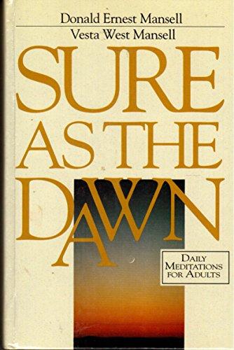 9780828007238: Sure as the Dawn