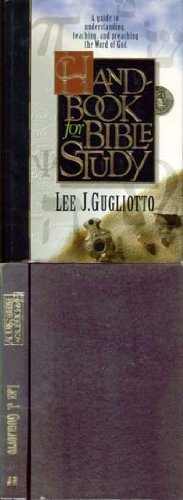 Handbook for Bible Study: Gugliotto, Lee