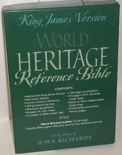 9780828013697: KJV World Heritage Reference Bible