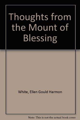 9780828015219: Thoughts from the Mount of Blessing