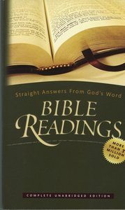 9780828017282: Bible Readings: Straight Answers from God's Word