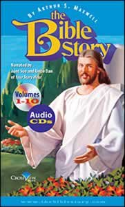 9780828024532: The Bible Story 10 Vol Set By Authur S. Maxwell, Narrated By Aunt Sue and Uncle Dan of Your Story Hour (Audio 40 CDs)