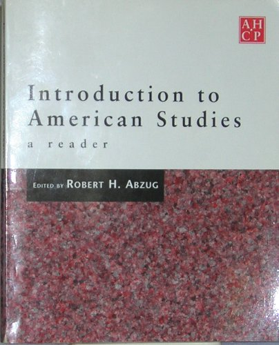 9780828108195: Introduction to American Studies, a Reader