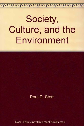 9780828109130: Society, Culture, and the Environment