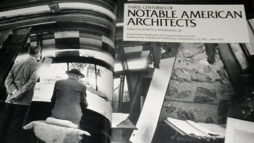 9780828111577: Three Centuries of Notable American Architects
