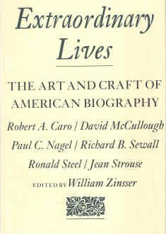 9780828112062: Extraordinary Lives: The Art and Craft of American Biography