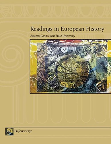 9780828112864: Readings in European History (Eastern Connecticut State University)