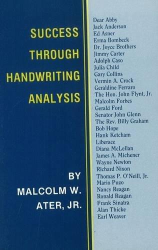 9780828319003: Success Through Handwriting Analysis: A Manual