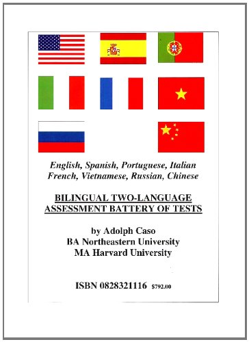 9780828320948: Bilingual Two-Language Assessment Battery of Tests: English, Spanish, Portuguese, Vietnamese, Italian, French, Russian, Chinese (Multilingual Edition)