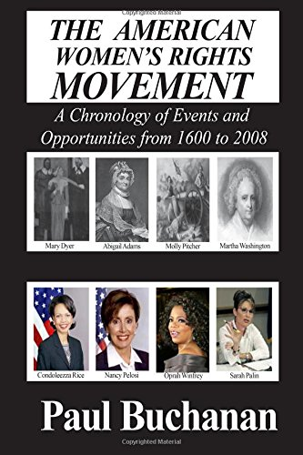 9780828321600: American Women's Rights Movement: A Chronology of Events and of Opportunities from 1600 to 2008
