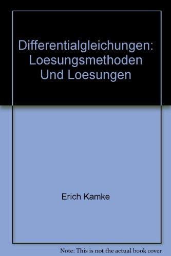 9780828400442: Differentialgleichungen: Losungsmethoden und Losungen, Band 1: Gewohnliche Differentialgleichungen, 3. Auflage