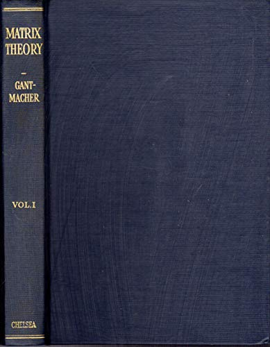 9780828401319: Theory of Matrices: 1