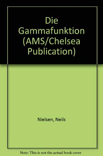9780828401883: Die Gammafunktion (German Edition)