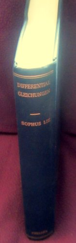 9780828402064: Differentialgleichungen (AMS Chelsea Publishing)