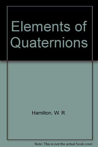 9780828402194: Elements of Quaternions
