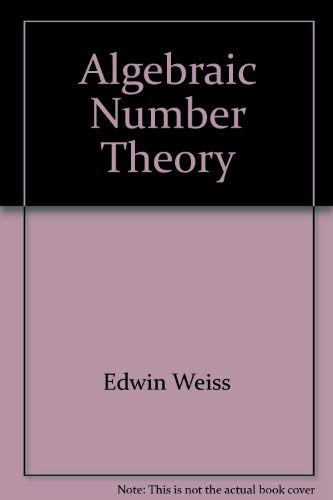 9780828402934: Algebraic number theory