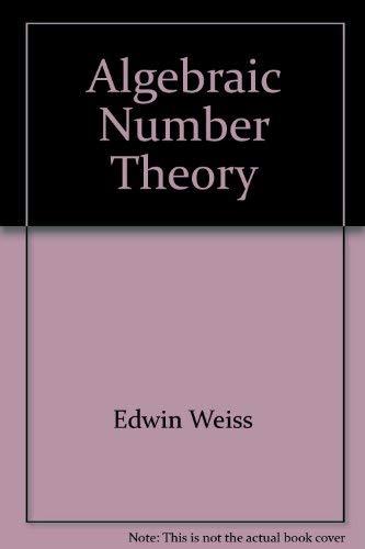 9780828402934: Algebraic number theory