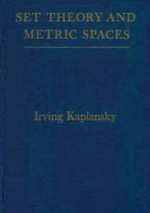 9780828402989: Set Theory and Metric Spaces