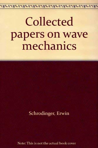 9780828403023: Collected Papers on Wave Mechanics (Translated from the Second German Edition) Second Edition