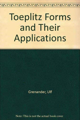 9780828403214: Toeplitz Forms and Their Applications