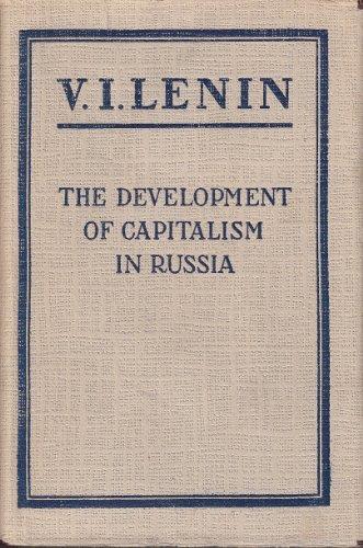9780828501262: Development of Capitalism in Russia